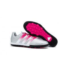 9fc7f1e356 Comprar chuteiras society em promoção Adidas ACE 16.2 Messi Society TF  Prata Rosa