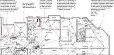 Aprenda a ler projetos residenciais de elétrica, identificando o local onde serão instaladas tomadas, interruptores e pontos de luz