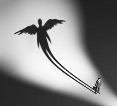 Gölgenle savaşmayı bıraktığında ruhun özgür kalır.