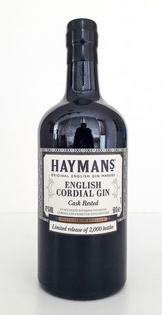 Hayman's English Cordial Gin Cask Rested - Gin Nerds