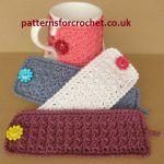 Free Simple Mug Cozy Crochet Pattern