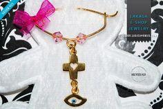 Religious Cross, Enamel Jewelry, Jewelry Shop, Brooch, Sterling Silver, Gold, Shopping, Brooch Pin, Jewlery