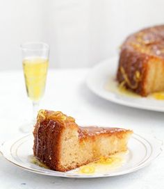 Lemon Syrup Cake recipe, brought to you by MiNDFOOD.
