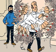Nestor, the butler of Moulinsart - Tintin and the Picaros