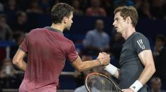 Murray defeating Dimitrov at 2014 Paris Masters securing him a spot in the ATP world Tour finals - Tenniscourtside.com