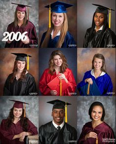 Traditional Cap & Gown Pictures Rebecca Peterman Photography