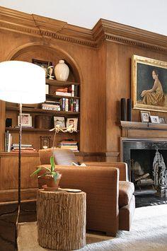 Vogue Living traditional living room