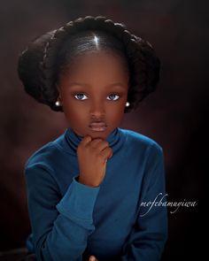 In Nigeria Kinderfrisuren Cute Black Babies, Beautiful Black Babies, Black Love Art, Black Girl Art, Beautiful Children, Black Girl Magic, Beautiful Eyes, World Most Beautiful Girl, Black Girl Aesthetic