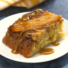 The ultimate in flavorful, fun desserts combine two of the best: upside-down cake, and bananas foster! This sweet treat features the best of both tasty worlds.