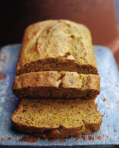 This moist, moreish loaf is an autumnal treat.