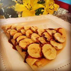 Crepa de plátano nutella !!!