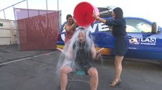Our own Glen Walker got in on the chilly challenge! We were all too happy to oblige. #als #awareness #icebucketchallenge