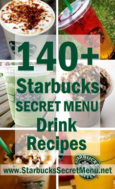 140+ Starbucks Secret Menu Drink Recipes