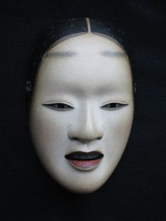 "Noh or Nogaku- derived from the Japanese word for ""skill"" or ""talent"" - is a major form of classical Japanese musical drama that has been performed since. Noh Theatre, Theater Masks, Samourai Tattoo, Japanese Noh Mask, Geisha, Japanese Folklore, Traditional Japanese Art, Grimm, Art Japonais"