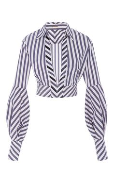 Lover Cropped Poplin Top by JOHANNA ORTIZ for Preorder on Moda Operandi