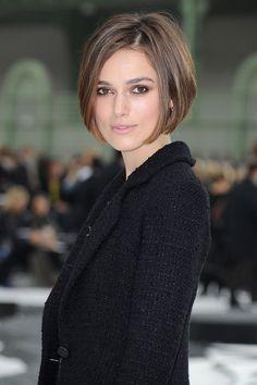Keira Knightley bei der Pariser Fashion Week 2010