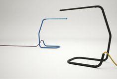 Leibal: Contour Lamp by Jacob Nitz Studio