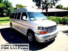 2014 GMC 9 Passenger Conversion Van Majestic Amura Presidential
