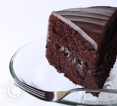 HERSHEY'S: Black Magic Cake (The BEST Chocolate Cake EVER).  Honestly, in this present moment, right now, I cannot think of anything I'd rather have.