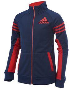 adidas League Track Jacket, Little Boys (4-7) | macys.com