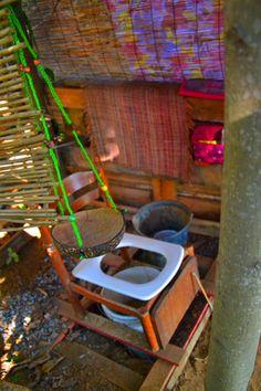 Fabriquer des toilettes sèches. la meilleure solution pour la cabane. Solution, Container, Flush Toilet