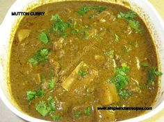 Mutton Curry | Simple Indian Recipes