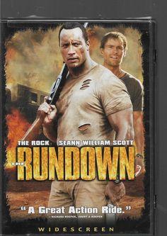 THE RUNDOWN  The Rock, Seann William Scott  DVD