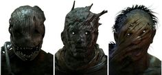 From left to right: The trapper has bear traps and a clever. The wraith has an…