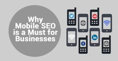 Mobile SEO is a must.