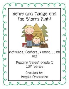 HM Henry and Mudge and the Starry Night-Flow Map | Teacher and ...