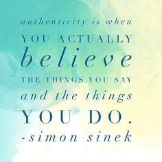 Agreed Mr. Sinek! And on that note happy weekend everyone #authenticity #authenticityiskey #simonsinek #storytelling #copywriting #writing #branding
