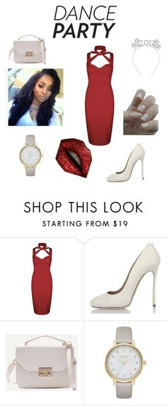 """""""👠"""" by mia0424 ❤ liked on Polyvore featuring Boohoo, Dsquared2 and Kate Spade"""