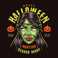 Colorful Halloween 2021 vector design illustration. Perfect for t-shirt and another apparel designs.