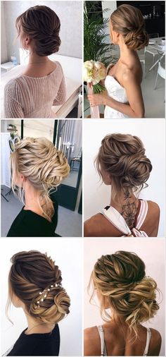 Stunning Wedding Hairstyles from - Forevermorebling Wedding Updo, Wedding Blog, Wedding Hairstyles, Wedding Day, Bridal Hair Inspiration, Vetement Fashion, Latest Hairstyles, Style Hairstyle, Hairstyle Ideas
