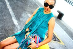 Zara dress, Kime Buzzelli for VANS bag