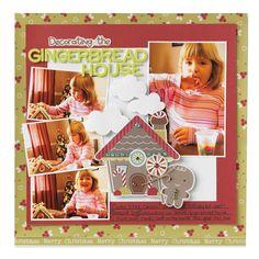 Decorating the Gingerbread House - Scrapbook.com
