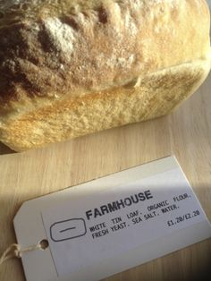 Farmhouse White Tin - bread like it used to be.  Fantastic as toast with honey!