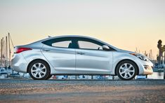 2012 Hyundai Elantra side profile