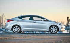 2012 Hyundai Elantra side profile