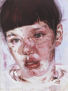 Jenny Saville, Red Stare IV, panathinaeos.wordpress.com