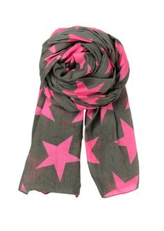 Becksondergaard Twilight Neon Pink Scarf - Perfect Valentines Day Present!