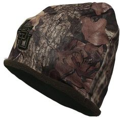 LSU Tigers Mossy Oak Camouflage Decoy Fleece Knit Hat
