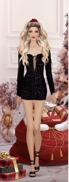 Covet Fashion, Fashion Games, Moon, Anime, Christmas, Outfits, Dresses, Design, Fashion Drawings