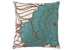 trina turk jungle bloom pillow