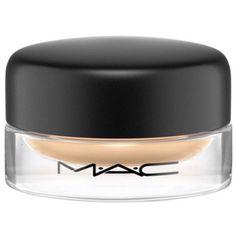 Mac Soft Ochre Pro Longwear Paint Pot (88 RON) ❤ liked on Polyvore featuring beauty products, makeup, eye makeup, eyeshadow, soft ochre, mac cosmetics, creamy eyeshadow and mac cosmetics eyeshadow