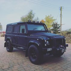Matt black Bespoke 110 GT creating peoples visions is what we do best.contact our sales team to discus your ideas.  Harrogate/Yorkshire/England 'Individual cars for very cool people'  #modified #british #bespoke #bfgoodrich #car #autobiography #rangerover #defender #defender90 #lifestyle #4x4 #blacklist #harrogate #hypebeast #Hibernot #instacar #instacool #instagram #landy #mayfair #overfinch #landrover #blacklist #cargram #svr #london #lifestyle #vipcars #instacars #carsofinstagram