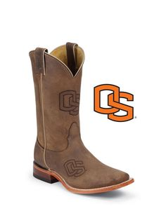Nocona Men's Oregon State Beavers Branded Boot  http://www.countryoutfitter.com/products/30101-mens-oregon-state-beavers-branded-boot