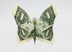 Money Folding Origami Dollar Bill