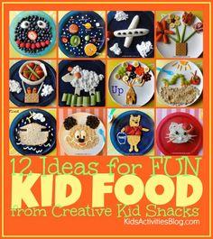 Fun kids food ideas