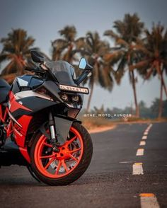 Striking the perfect pose on the tropical street. The KTM RC clip on handlebars enhance the control for perfect lines through any… Blur Image Background, Desktop Background Pictures, Blur Background In Photoshop, Photography Studio Background, Studio Background Images, Light Background Images, Picsart Background, Hd Background Download, Nature Photography